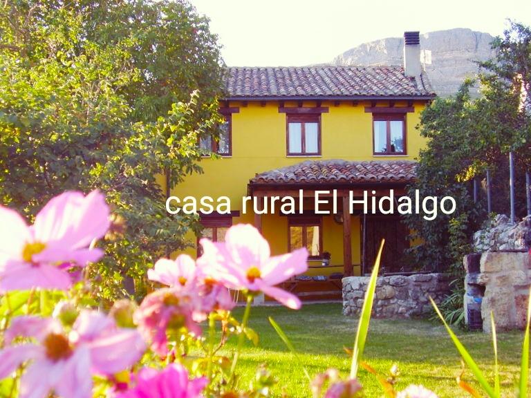 Casa de turismo rural El Hidalgo en Amaya Burgos